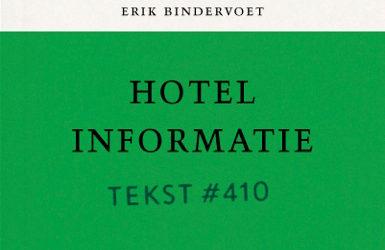 Koop De Tekstuitgave Van Hotel Informatie