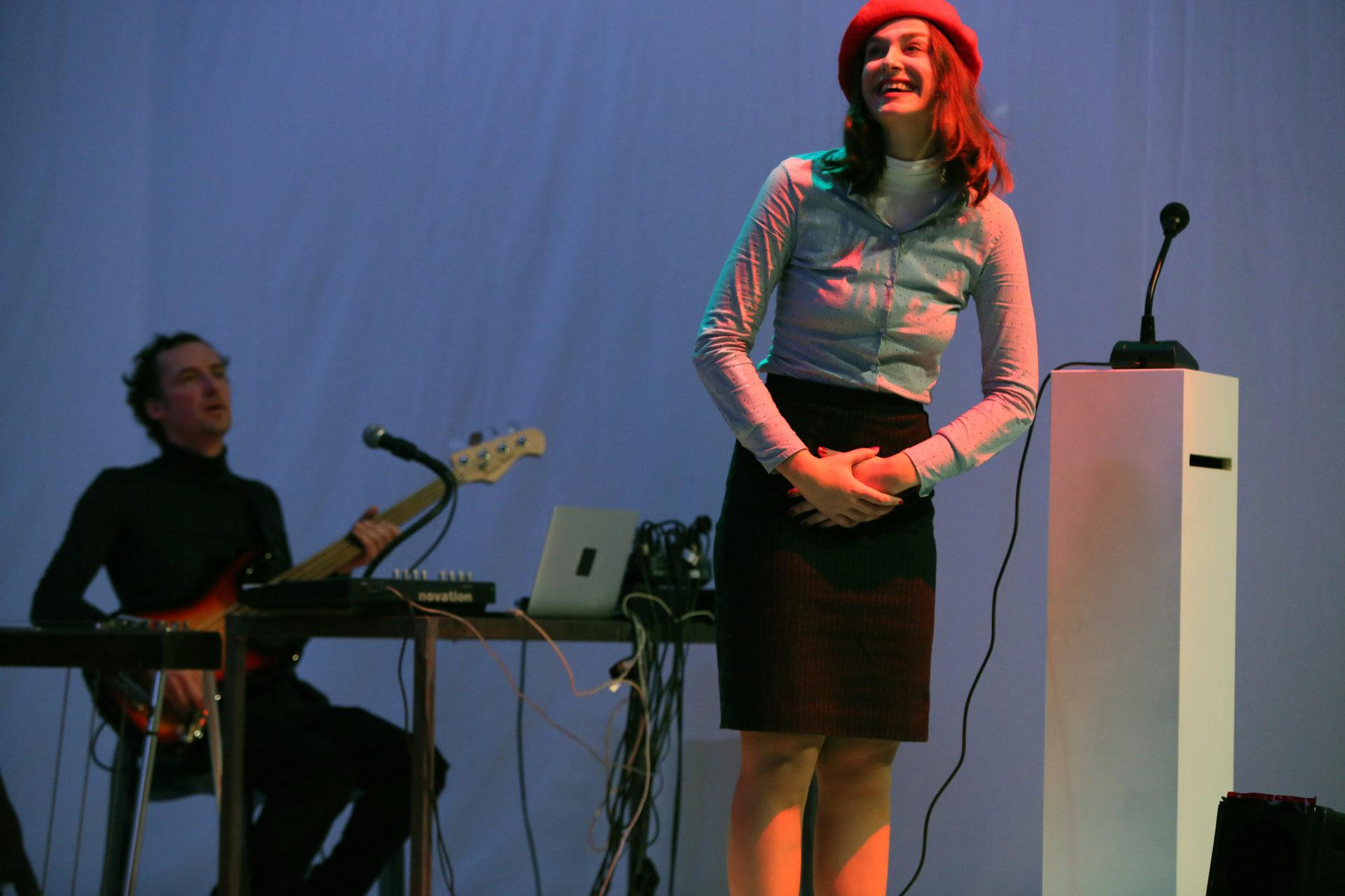 Ilse Geilen in Club Catharsis. Foto: Sanne Peper