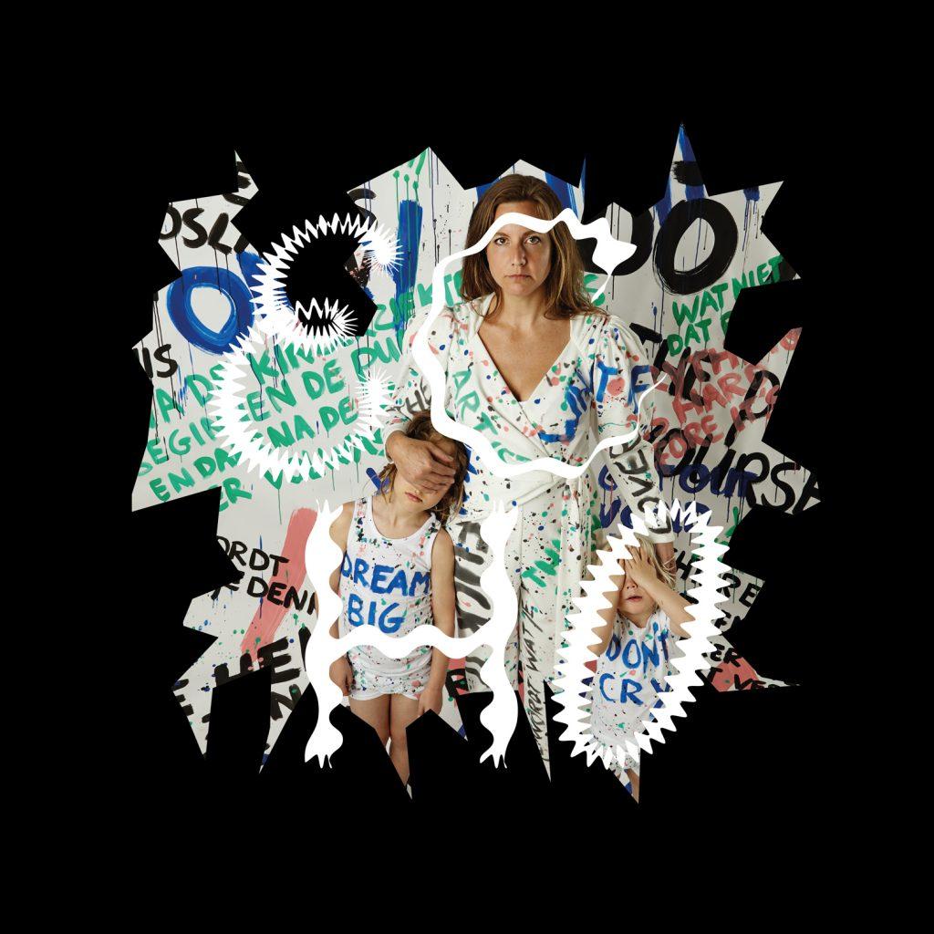 Publiciteitsbeeld Theatergroep ECHO Speelt ECHO, Foto Door Miek Uittenhout Met Grafische Bewerking Door Studio Janne Beldman