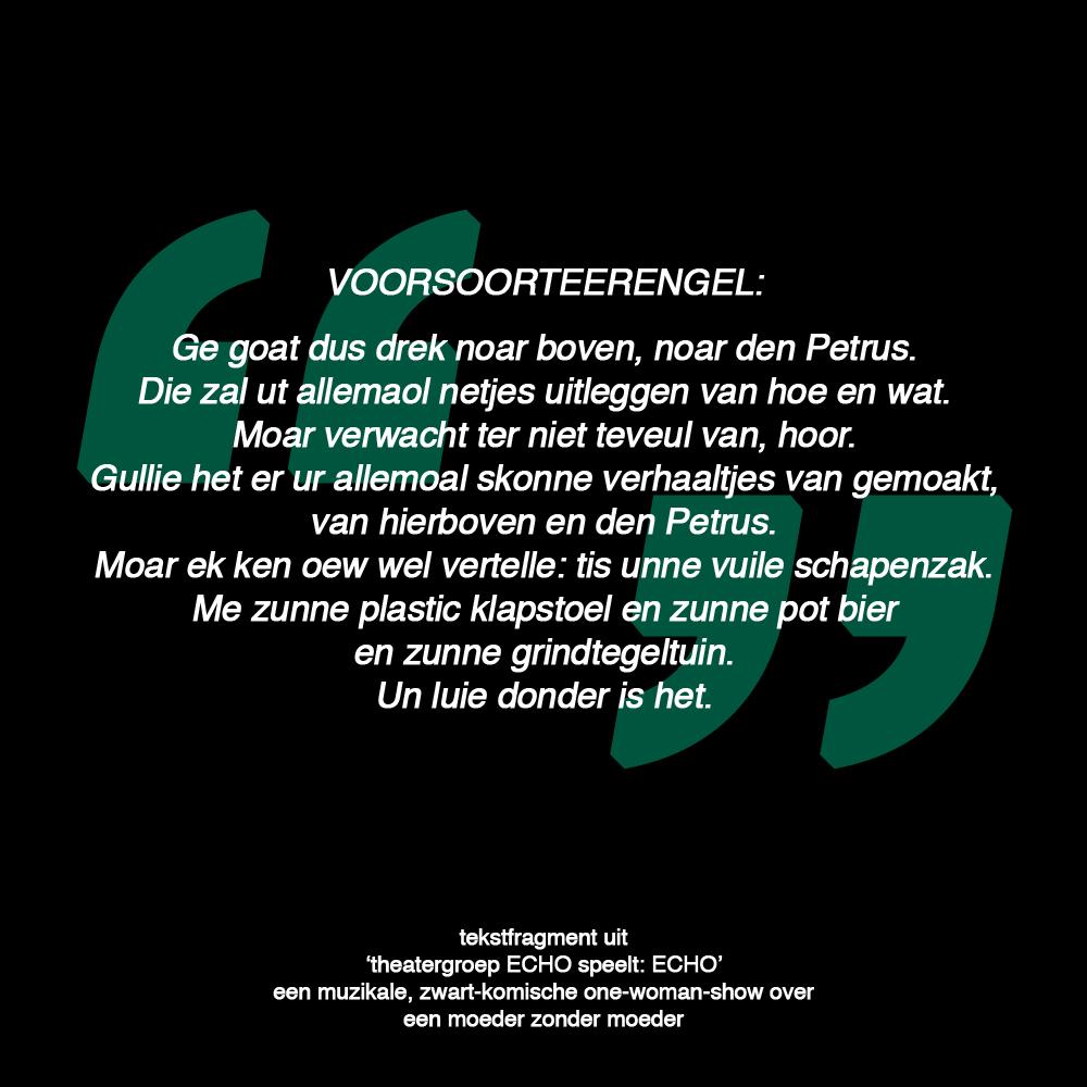 Tekstfragment Door Koen Frijns